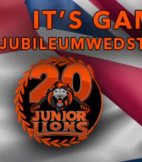 Jubileuminterland American Football-junioren in Arnhem