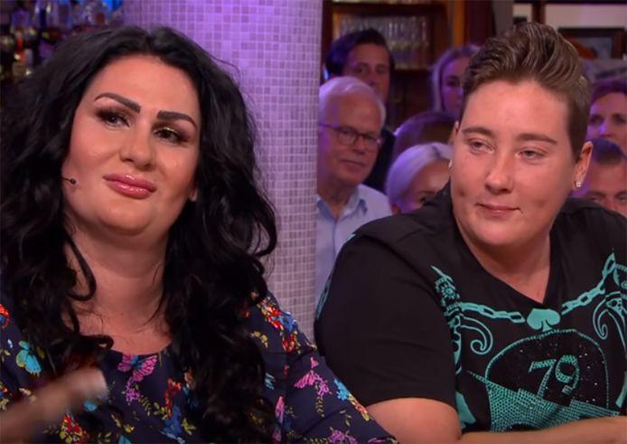 Louisa (links) en Rosanna