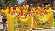 Somival scoort achttien (!) medailles op Special Olympics