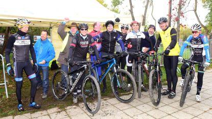 Record aantal mountainbikers aan de start