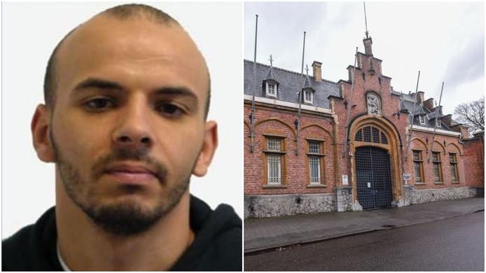 Oualid Sekkaki s'est évadé de la prison de Turnhout le 19 décembre 2019.