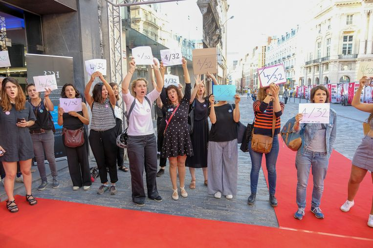 Protest: maar 4 op de 32 regisseurs zijn vrouwen