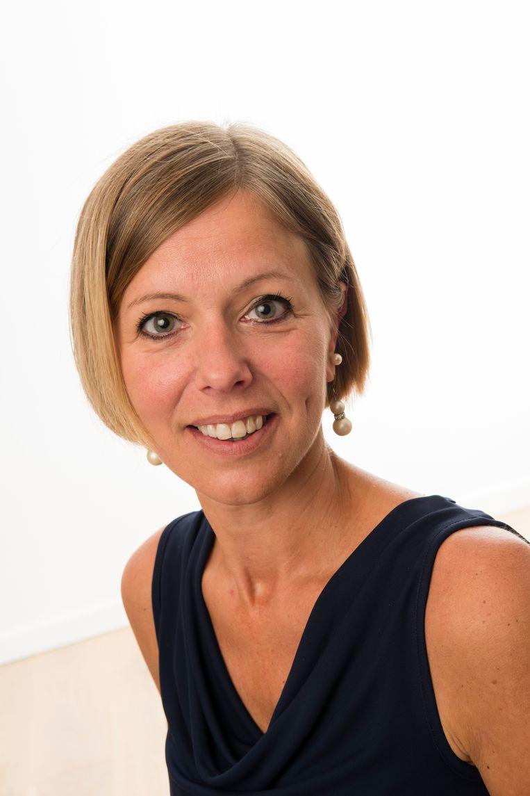 Gemeenteraadslid Isabel Sticker (Open Vld).