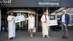 Moslimgemeenschap schenkt 38.300 euro aan Limburgse ziekenhuizen in de strijd tegen corona