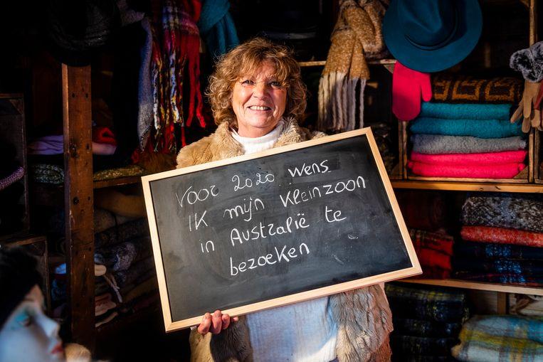 Gerda Van Daele (75) uit Brecht wil volgend jaar haar kleinzoon in Australië gaan opzoeken.