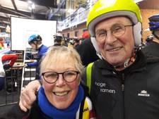 Kilometers vreten op Deventer ijs