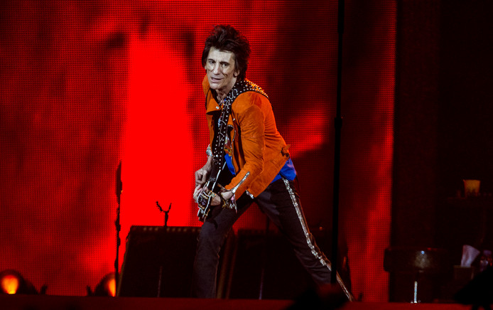 Rolling Stones Amsterdam Arena Ron Wood