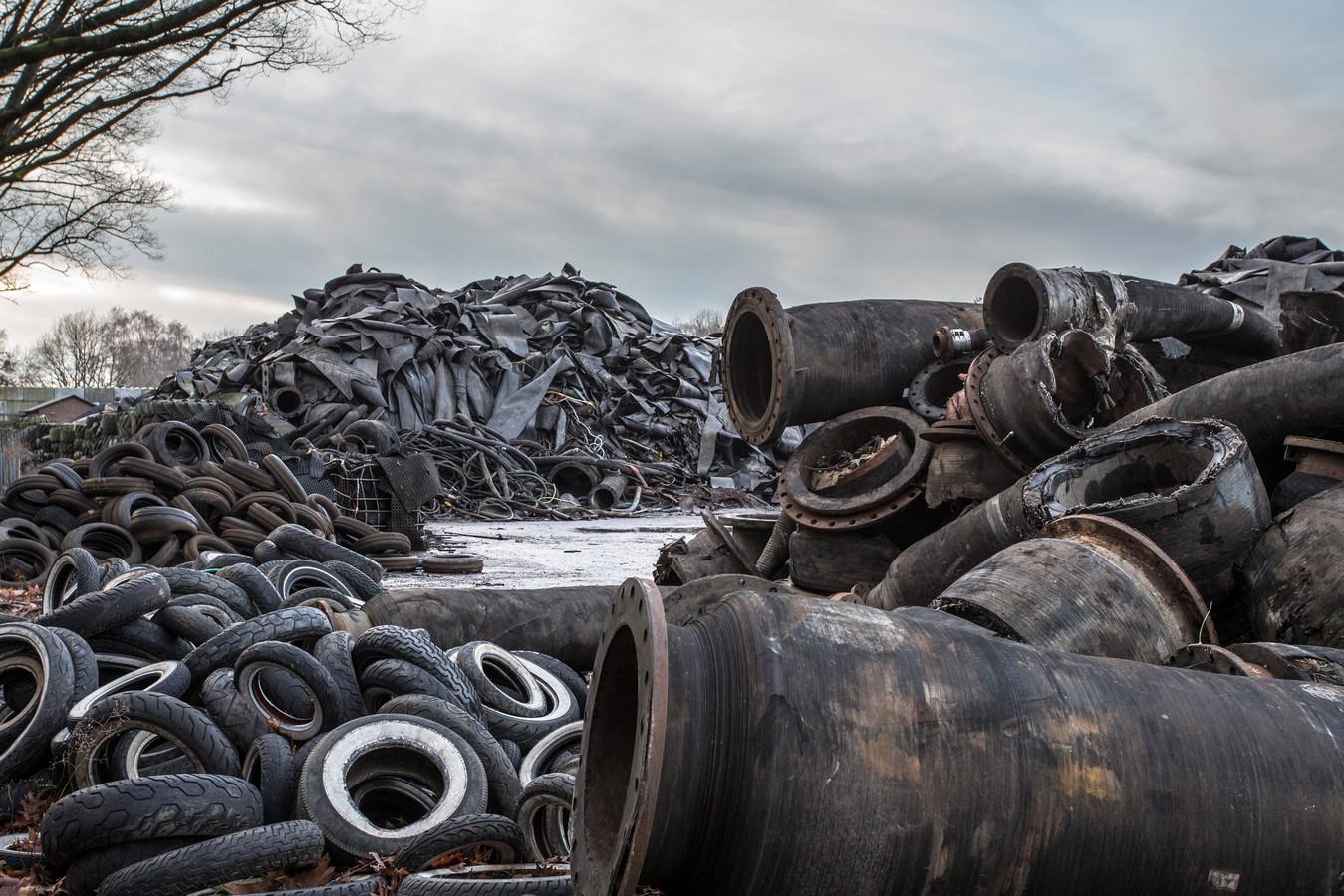 Doornberg Recycling aan de Scheggertdijk Almen.