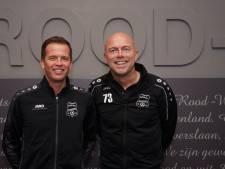 Ondanks ziekte ALS blijft Thijssens samen met Verbeek trainer bij Rood-Wit V