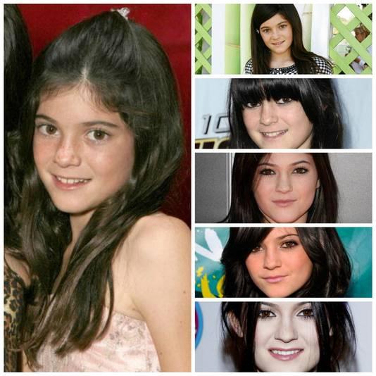 Kylie door de jaren heen.