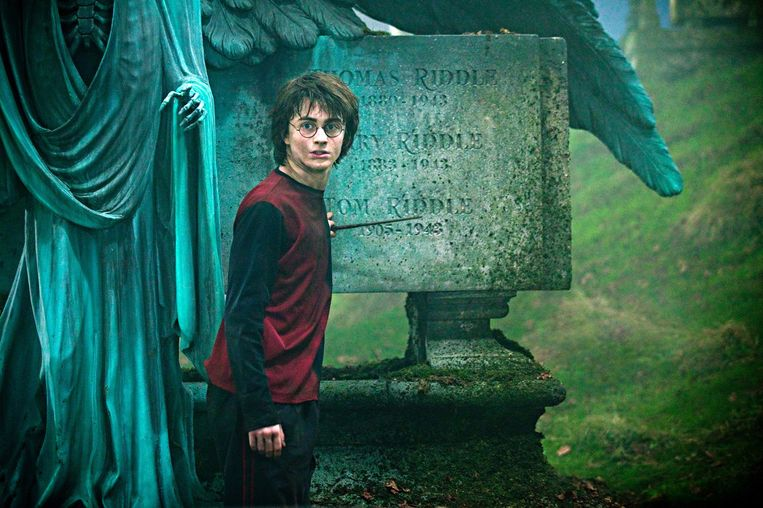 Daniel Radcliffe speelt Harry Potter in 'Harry Potter and the Goblet of Fire'. Beeld Reuters
