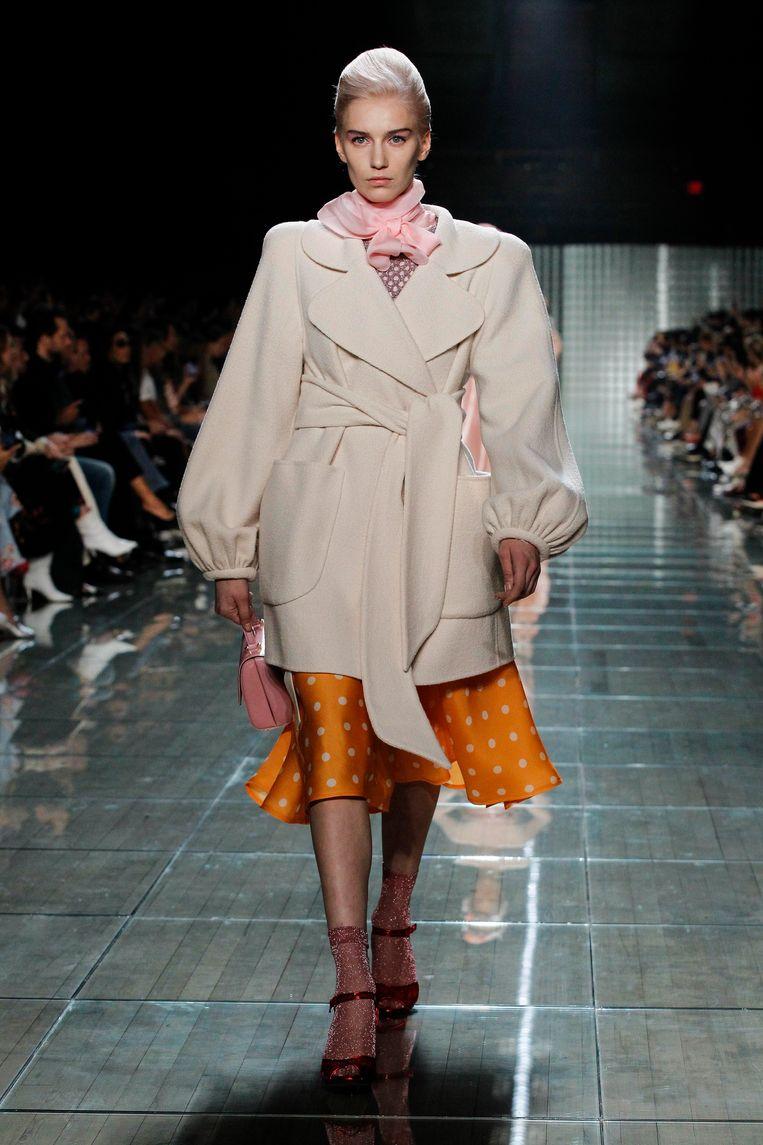 Marc Jacobs tijdens New York Fashion Week 2018.