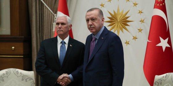 Trump-regering bereikt deal met Erdogan over staakt-het-vuren in Syrië