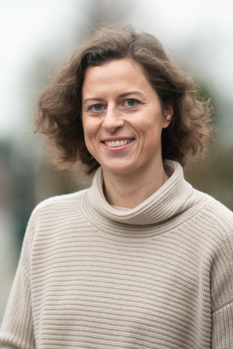 Horebeekse burgemeester Cynthia Browaeys (Volksbelangen) maakt zich geen zorgen over de hoge gemiddelde leeftijd in haar gemeente.
