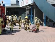 Silverdome ontruimd na brand in technische ruimte