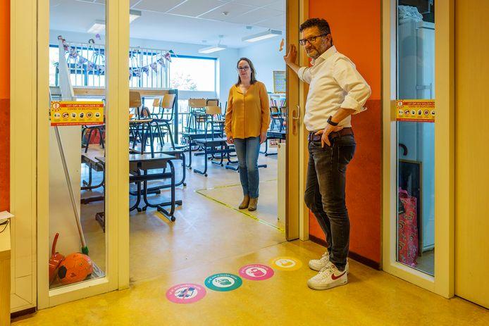 Basisschool De Regenboog in Woerden is klaar om de leerlingen te ontvangen.