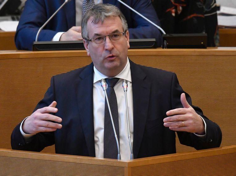 Waals minister van Werk en Economie Pierre-Yves Jeholet.