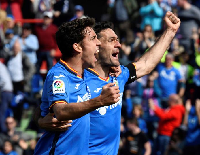 Jaime Mata (30) en Jorge Molina (36), de twee ervaren spitsen van Getafe die dit seizoen allebei al tien keer scoorden.