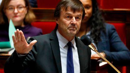 "Franse minister stapt teleurgesteld op: ""Ik stond alleen met standpunten over milieu"""