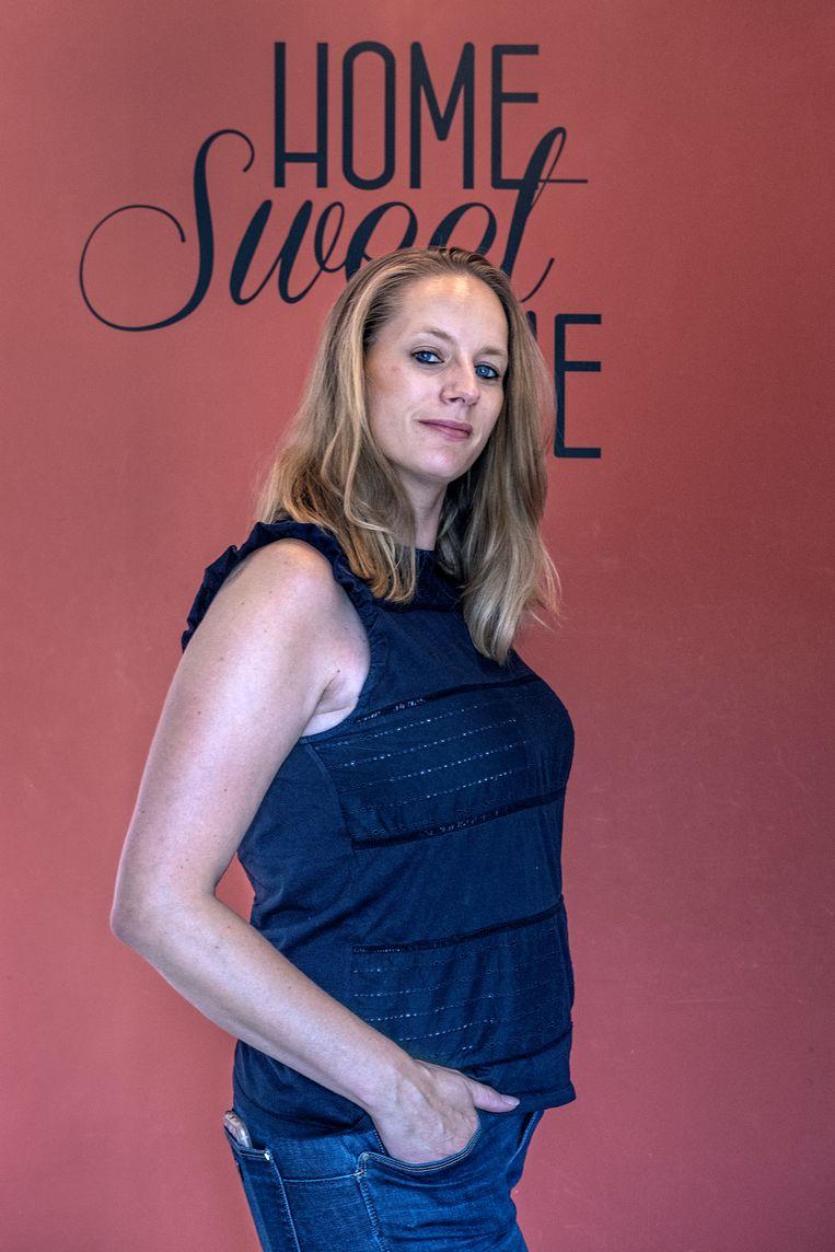 Patricia Koot (37), werkte als marketingspecialist bij een elektronicaconcern. Ze besloot na haar ontslag de zorg in te gaan. Beeld Patrick Post