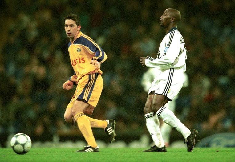 Met Chelsea in de Champions League tegen Anderlecht en Besnik Hasi.