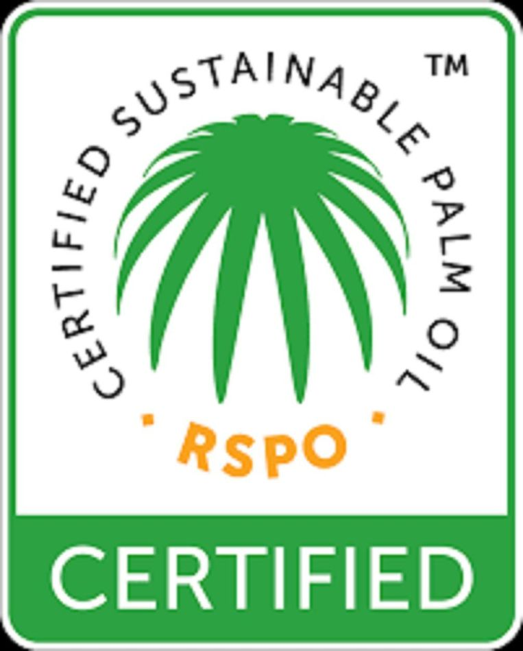 RSPO CERTIFIED SUSTAINABLE PALMOIL Keurmerk Beeld null