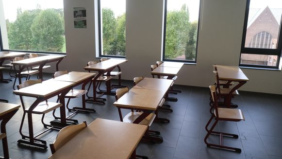 Een nieuw klaslokaal