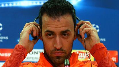 """FT buitenland: Busquets op zijn hoede voor Chelsea - Conte: """"We gaan niet vaak de bal hebben"""""""