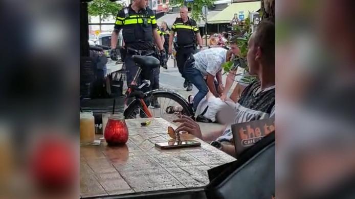 Aanhoudingen op Heuvel in Tilburg