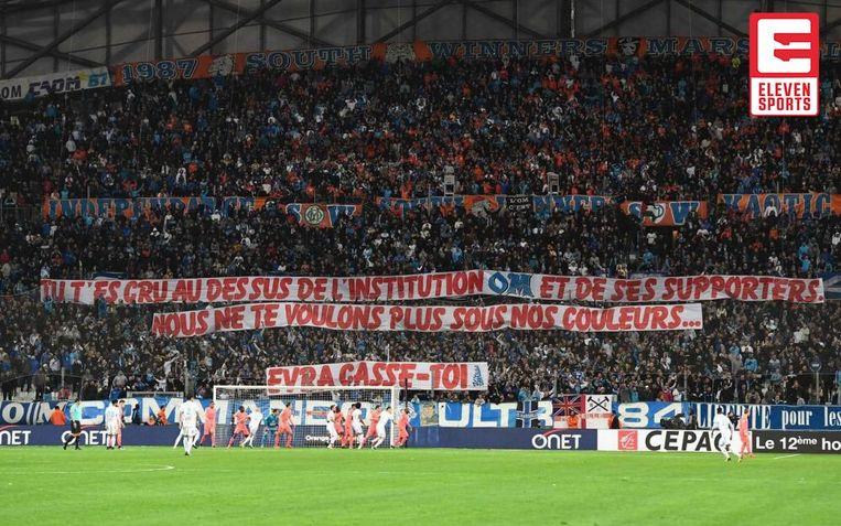 De Marseille-aanhang is niet mals voor Evra