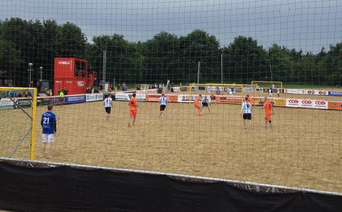In de play-offs werd een 5-4 voorsprong in de laatste minuut verspeeld. Foto: Herman Nijman