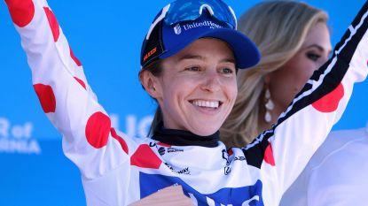 Katie Hall wint bergetappe Ronde van Californië