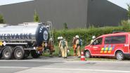 Hitte zorgt voor ammoniaklek aan tankwagen langs N36