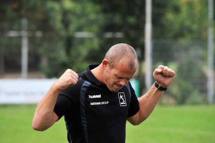AVW'66-trainer Wouter van der Ent. Foto: Gert Budding