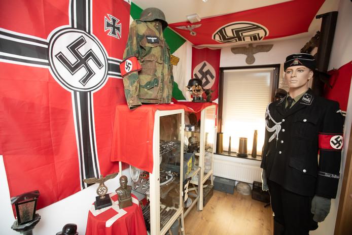 Geert wil niet enkel van zijn tattoos af, maar ook van al zijn spullen die hij van kindsbeen verzamelde.