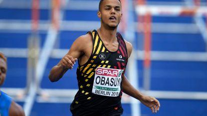 Obasuyi strandt in halve finales 110m horden - Claes grijpt maar net naast medaille op 400 meter horden
