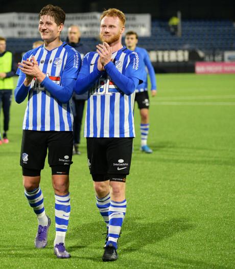 FC Eindhoven opnieuw een poos zonder spits Jort van der Sande