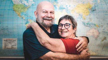 Jean (72) en Josette (68) werden vijf jaar geleden verliefd op elkaar, nu openen ze samen een reisbureau