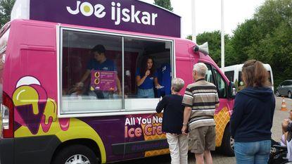 Joe trakteert Ter Duinen op ijsjes