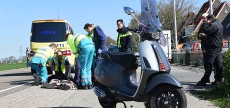 Jonge scooterrijder gewond na aanrijding in Groenekan