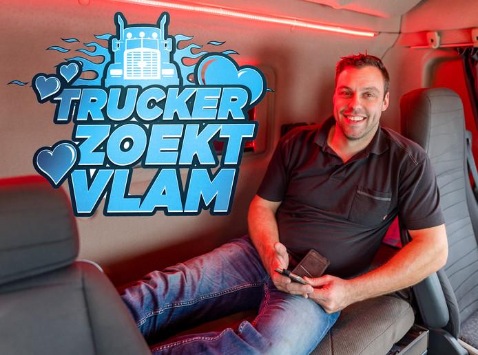Ed  is een van de truckers die met hulp van Trucker zoekt Vlam zoeken naar een relatie.