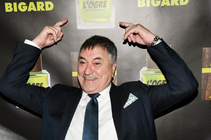Jean Marie Bigard lors de la soirée de présentation de son Vin et de son Parfum l'Ogre, le 22 octobre 2019.