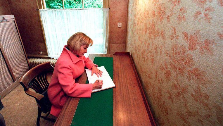Hillary Clinton in het Achterhuis Beeld anp