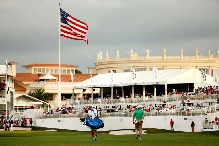 Trumps golfbaan in Miami was in 2016 onderdeel van de  World Golf Championships.