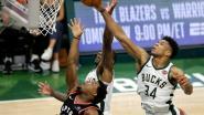 VIDEO. Milwaukee verslaat Toronto in eerste finaleduel van Eastern Conference