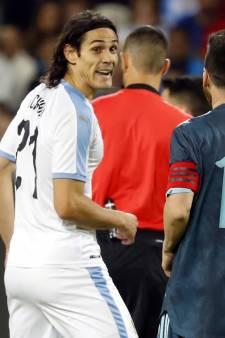 """Embrouille entre Messi et Cavani en plein match: """"Viens te battre"""""""