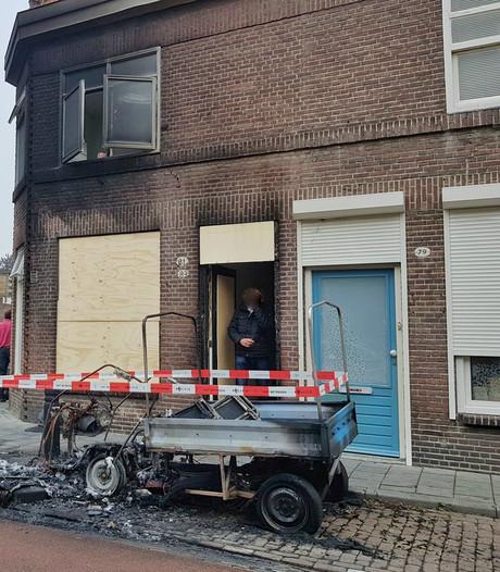 Brommobiel blijkt al drie keer in brand gestoken: Tilburgse (54) doet aangifte