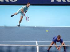 Koolhof verliest laatste groepswedstrijd op ATP Finals