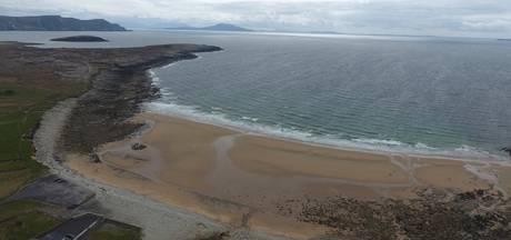 Verdwenen Iers strand na 33 jaar terug