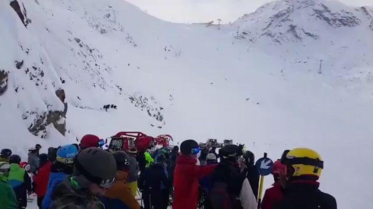 Met man en macht werd er zaterdag gezocht naar de skiërs Stephan Verheij (39) en Roy Brink (33).